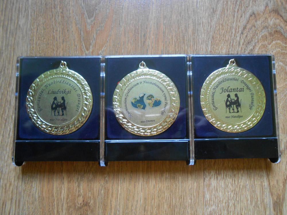 Proginiai medaliai