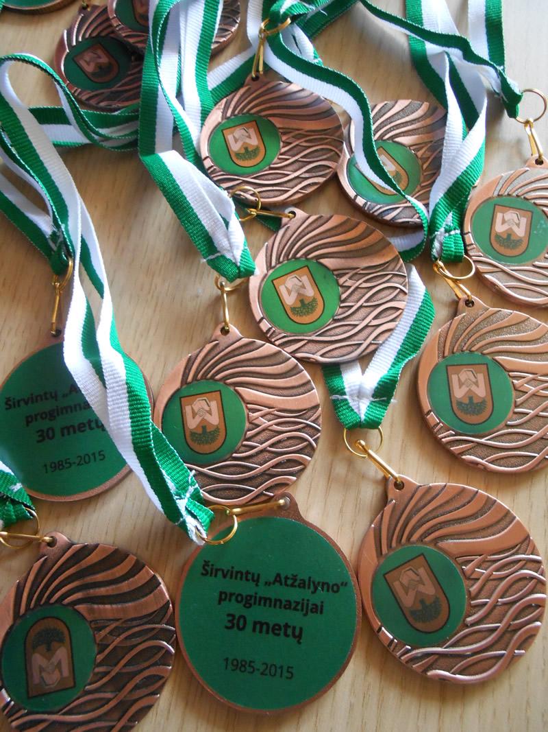 Medaliai mokyklai