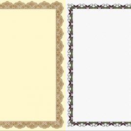 Diplomas LT-0059. Du diplomai viename