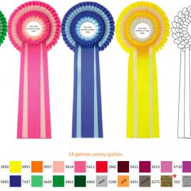 rozetės apdovanojimai