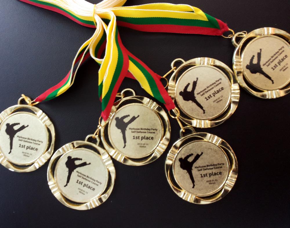 Medaliai gimtadieniui