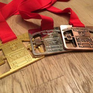 Medaliai kultūrizmo čempionatui