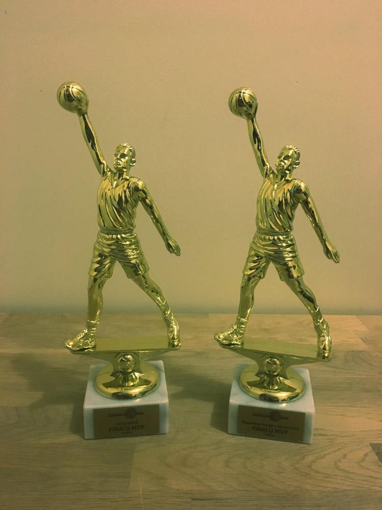 Krepšinio statulėlės