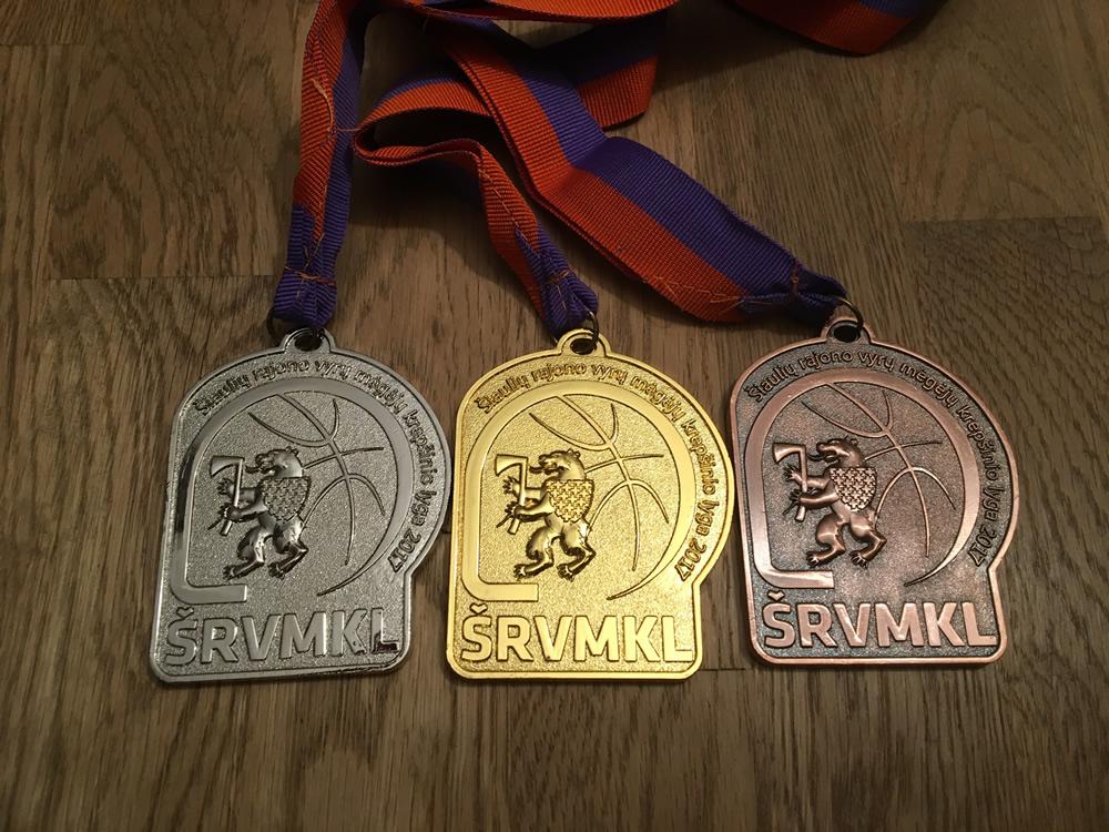 Krepšinio medaliai