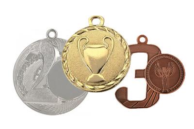 Medaliai įvairiems turnyrams