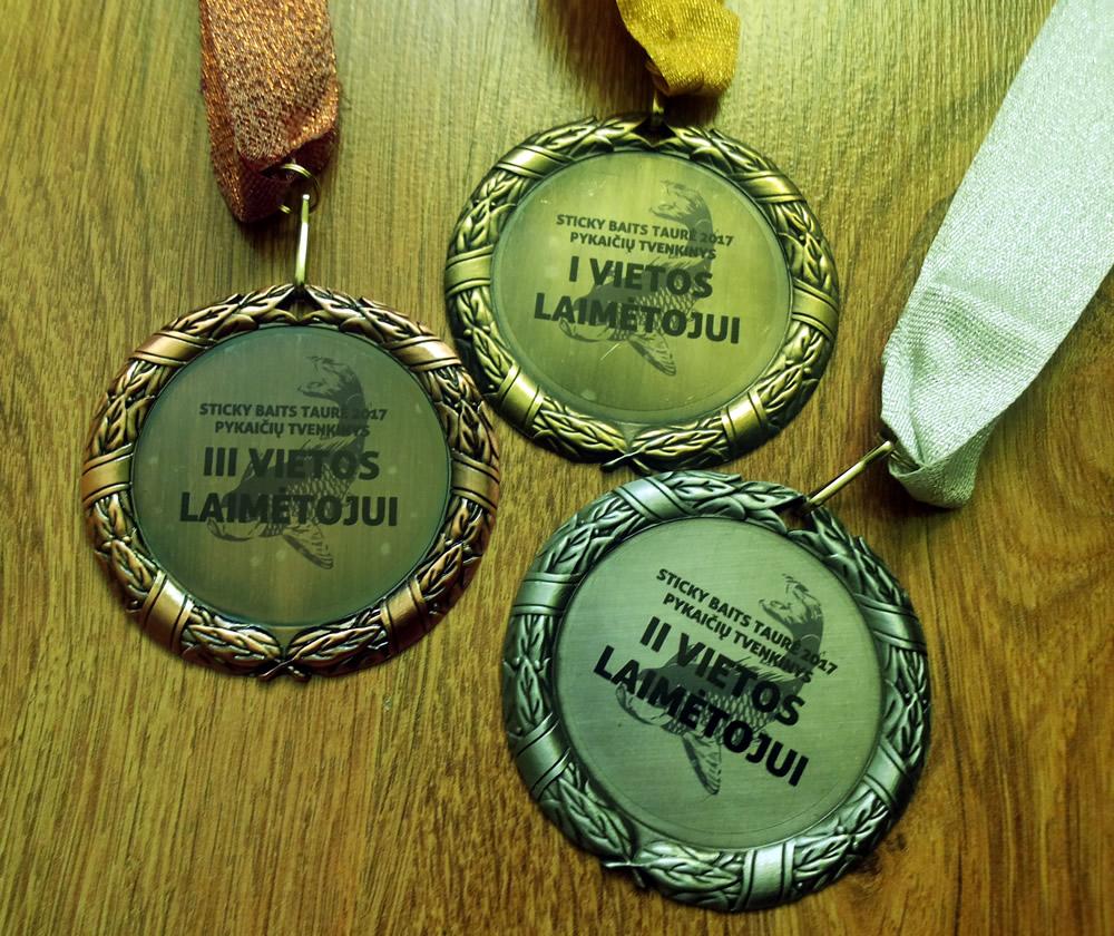Medaliai žvejybai