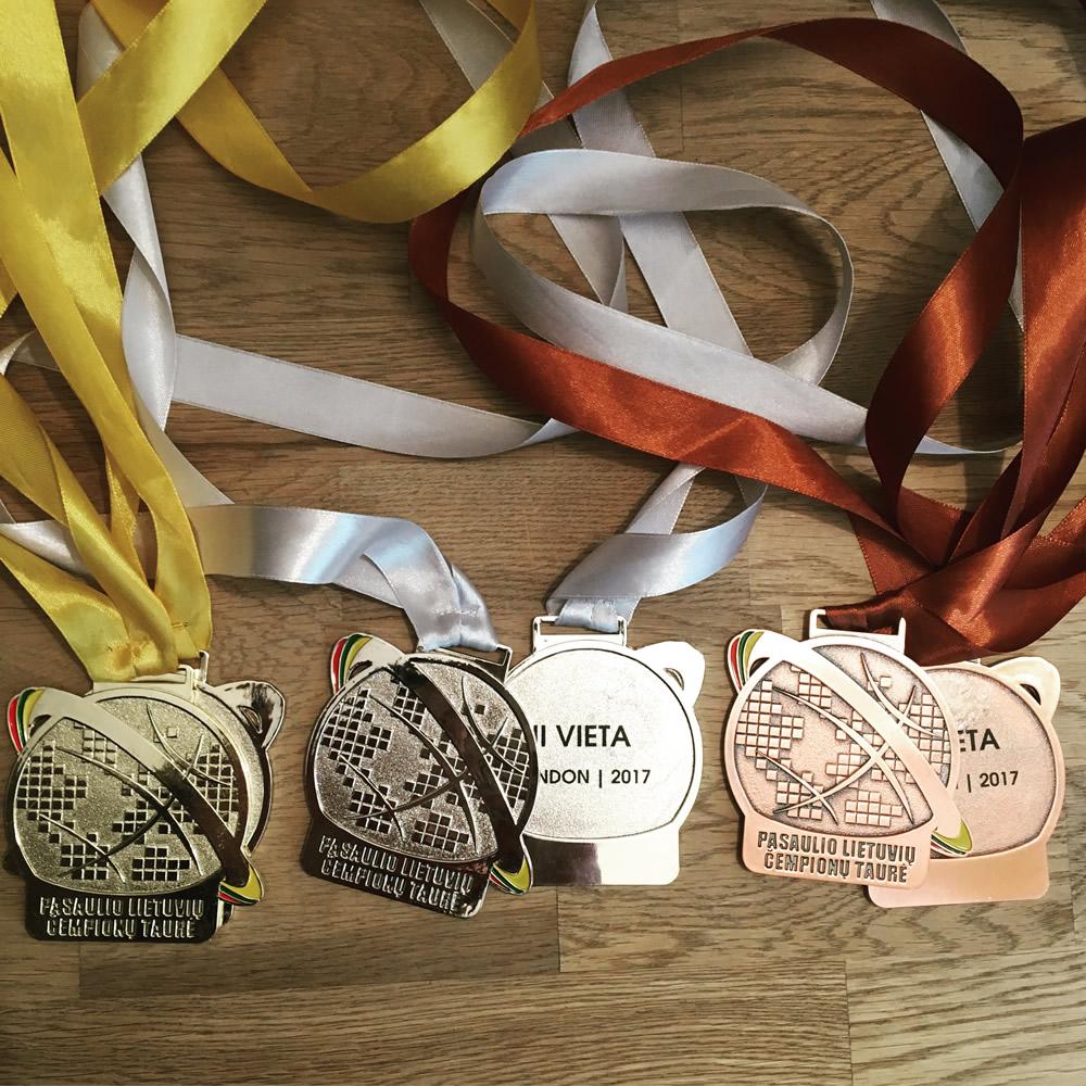 PLČT medaliai