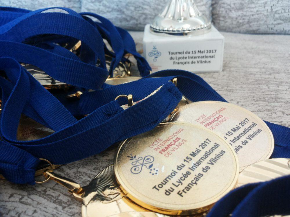 Medaliai futbolo turnyrui