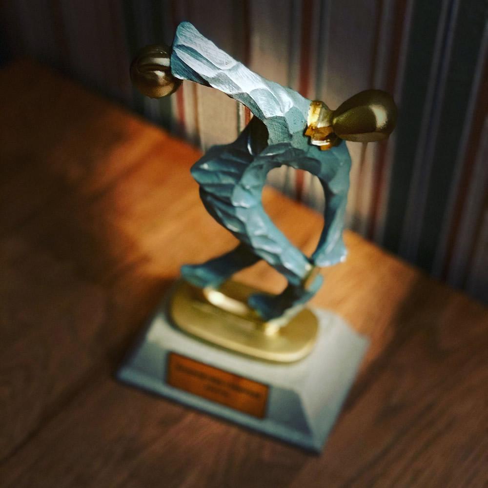 Boulingo statulėlė