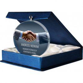 Stiklinis medalis STI-GM7010